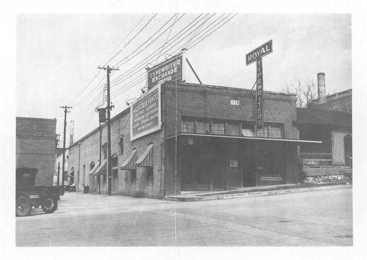 140 years of reinvention miller imaging digital solutions before the 10th street location of miller blueprint was given an art deco upgrade it looked like this in 1932 malvernweather Choice Image