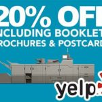 Check in at MILLER Imaging and Digital Solutions onYelp and Get a 20% Discount on Your First Small-Format Print Order!