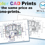 Color CAD Prints for the same price as Mono-prints