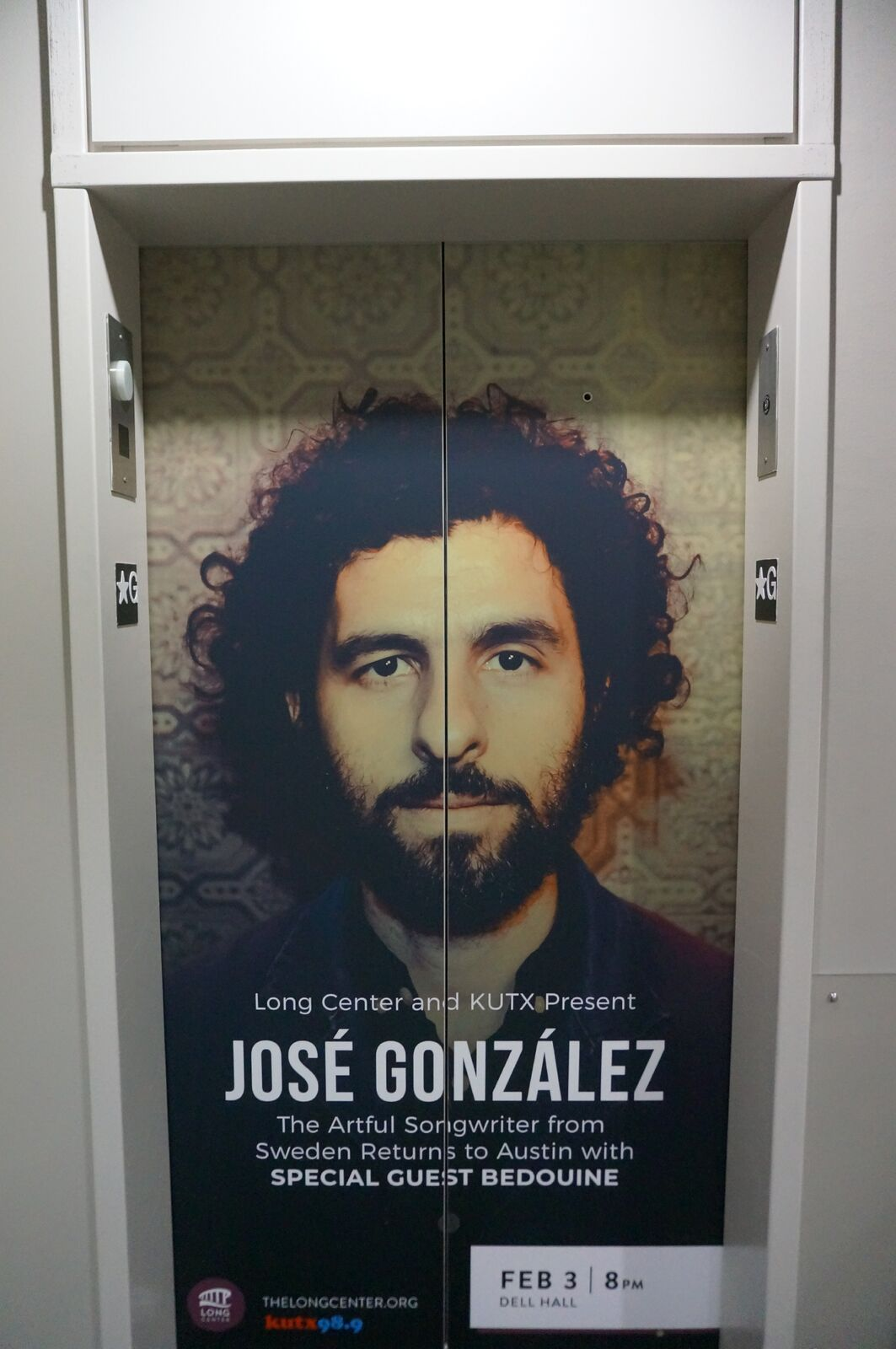Jose Gonzalez returns to Austin February 3rd at the Long Center,