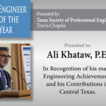 "Congratulations to Ali Khataw for receiving ""Engineer of the Year"" Award"