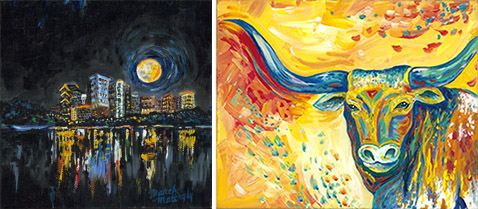 March Mattingly is a central Texas artist. Miller IDS is proud to support her.