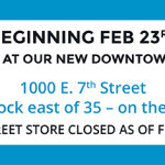 We're Moving to the Eastside February 20th!