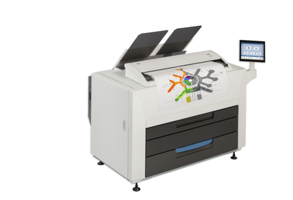 Top 5 reasons to trade in your current wide format printers for a KIP 800 Color Series System.
