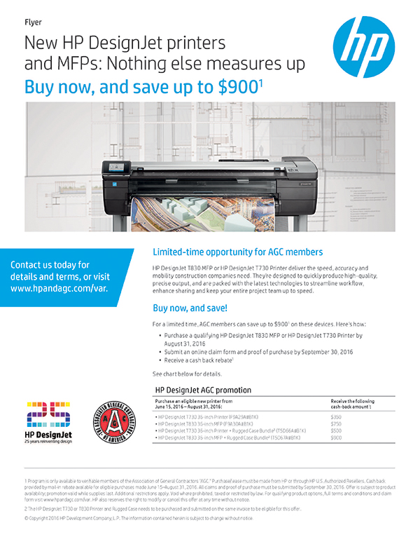 AGC Partners with HP to Save Members Money - MILLER Imaging
