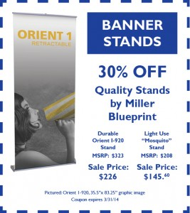 February Coupon - BannerStands