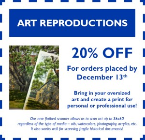 November Coupon - Art Reproductions