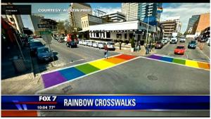 RainbowCrosswalks