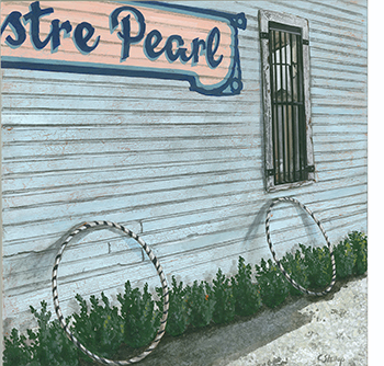 Christy Stallop painting of Lustre Pearl